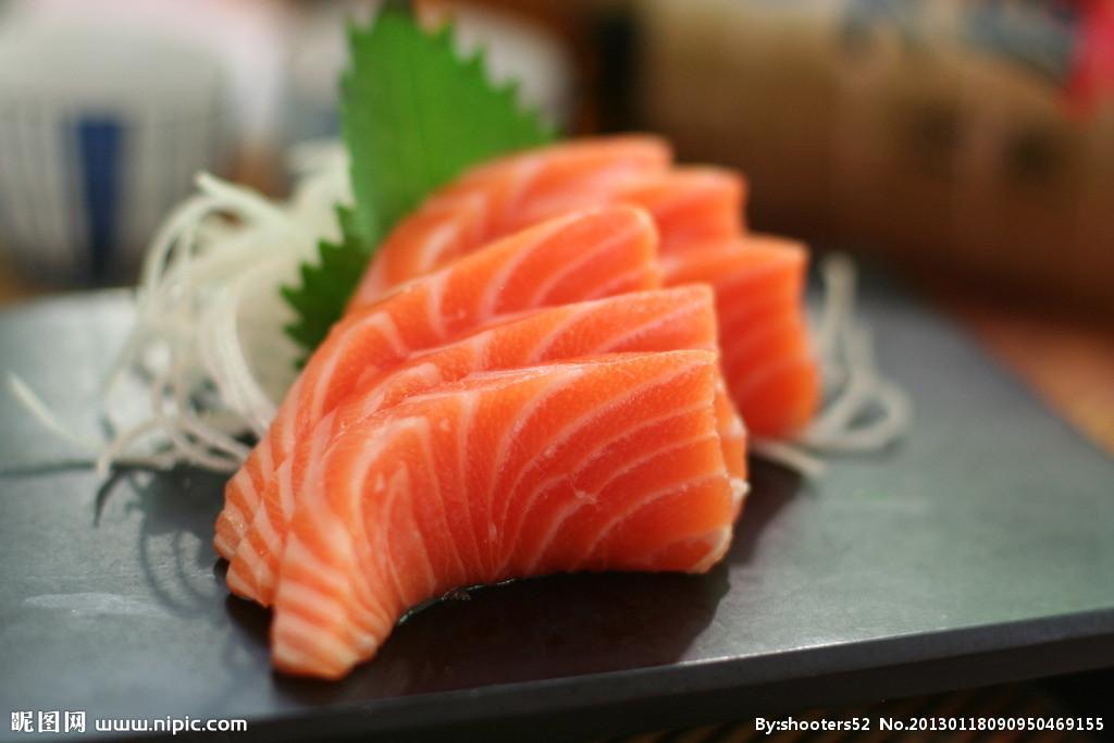 抗衰老祛皱功效排行——三文鱼