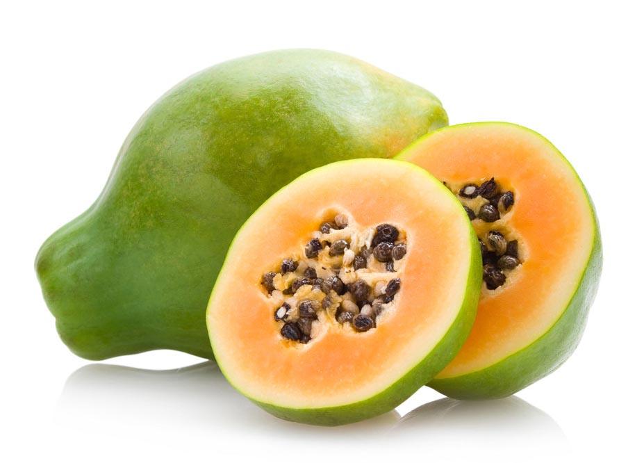丰胸美体食物排行——木瓜