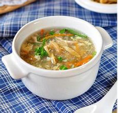 女性美肤健乳调理靓汤──榨菜肉丝汤