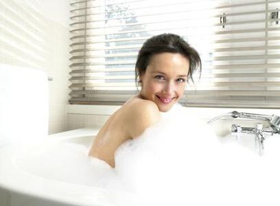 泡澡,温度决定功效