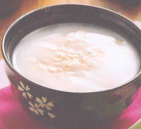 早餐燕麦粥(大暑养生药膳)