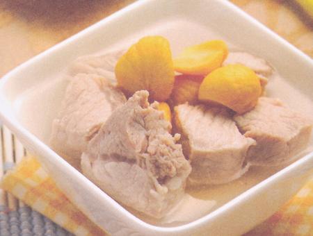 鲜美栗子猪肉肉汤(大雪养生药膳)