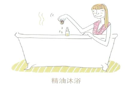 沐浴法:加速新陈代谢和循环