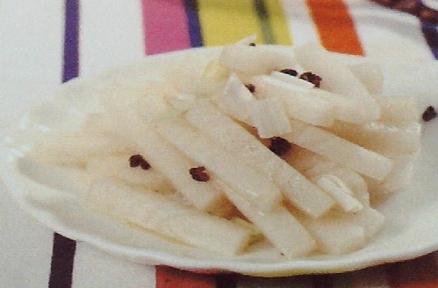 降压食材食谱-白萝卜