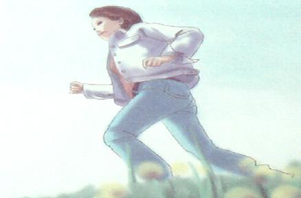 慢跑,春天健康的零存整取