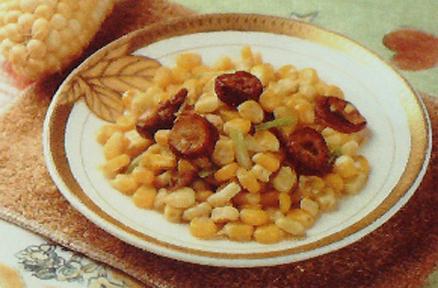 高血脂玉米食养方