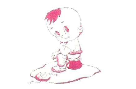 1~2岁:培养宝宝走时坐盆大小便的习惯