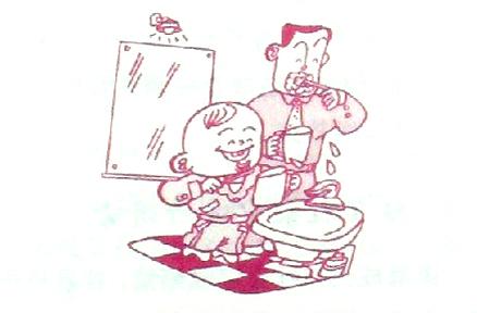 2~3岁:注意宝宝的牙齿护理