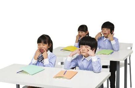 多让孩子做做眼睛保健操