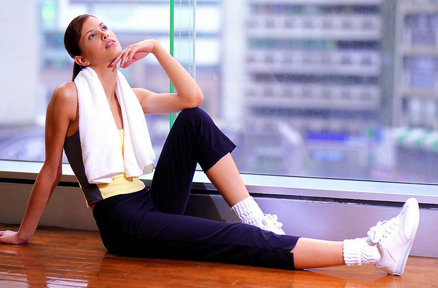 体育健身运动有利于提高人的生活质量