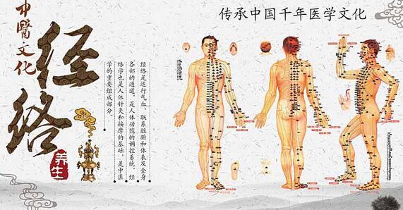 中医经络穴位的养生法 这些经络让你越来越健康
