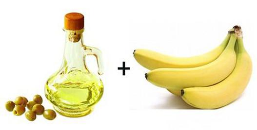 香蕉橄榄油面膜轻松抚平干纹细纹