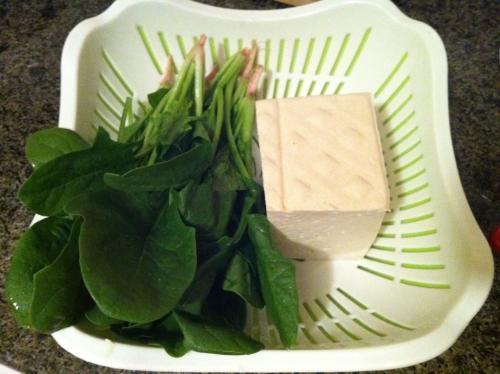 吃菠菜就不能吃豆腐 会得肾结石对吗