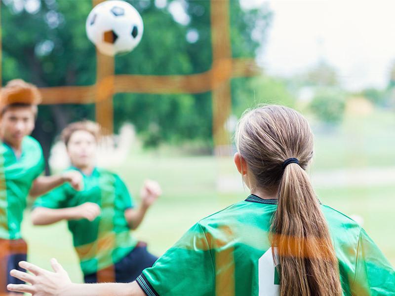 运动可以促进儿童青少年生长发育