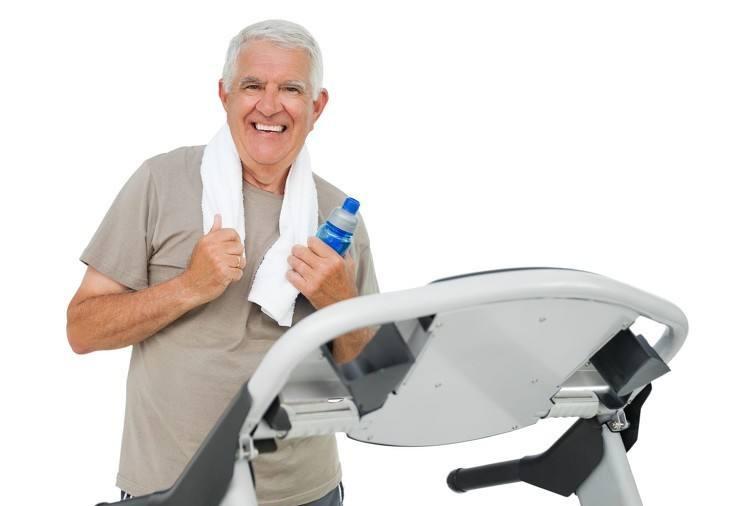 中老年人应长期坚持健身跑