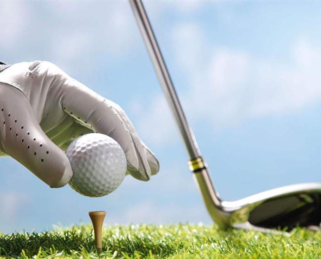 目前高尔夫球已进入我国人民群众生活中