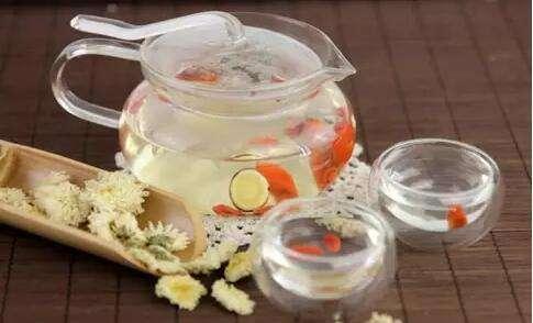 养肝茶——枸杞菊花茶