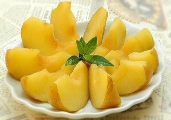 苹果煮熟吃养胃止腹泻