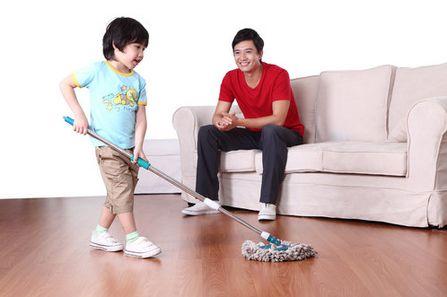 想要孩子学会做家务,这两个时间段很重要