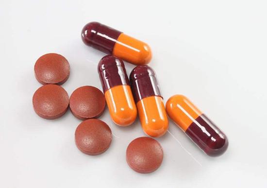 多种多样的中成药类减肥产品