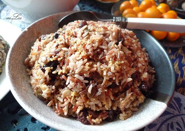 女性滋阴美容米饭