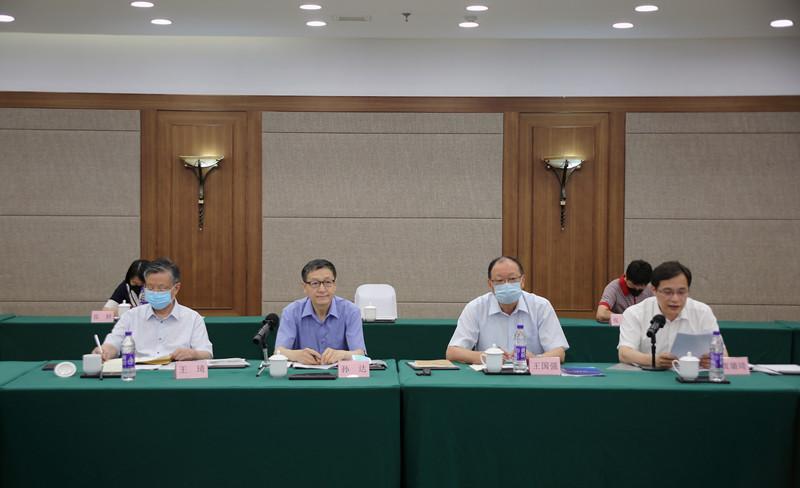 孙达出席《中华人民共和国中医药法》实施三周年专家座谈会并讲话