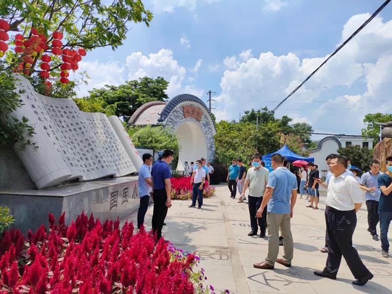 国医小镇丨江西兴国县乡村振兴建设提升班党建活动